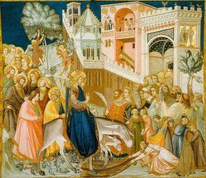 Frescă dintr-o biserică din Ierusalim