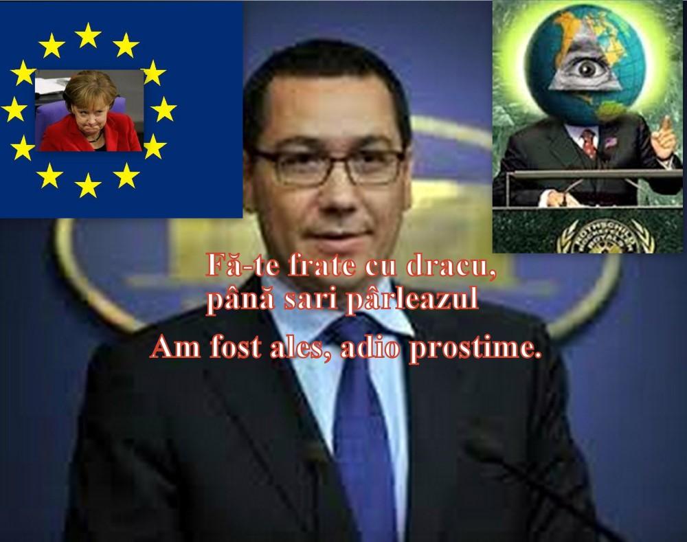 Romania s-a procopsit cu alt supus Băsescu. Scrisoare lui Ponta