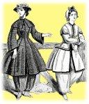 femei la plaja în secolul XIX