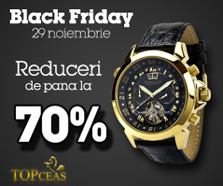 Black Friday- Blog Friday Top Ceas cumpăraturi ieftine.
