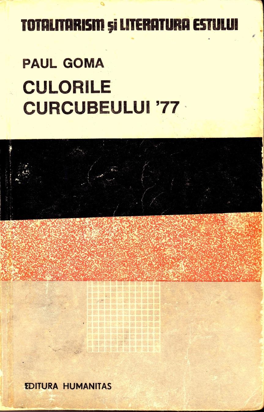 CULORILE CURCUBEULUI '77CULORILE CURCUBEULUI '77, PAUL GOMA