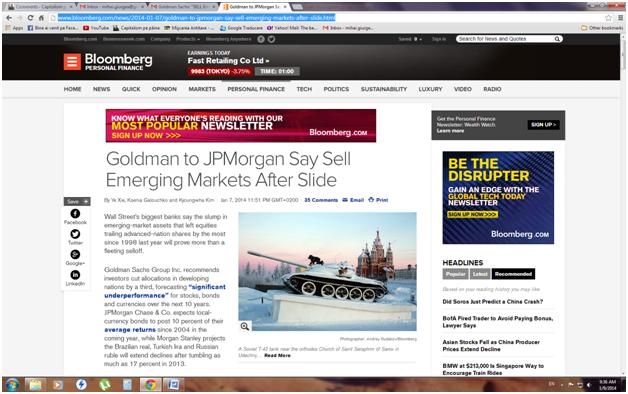 Goldman Sachs: VINDETIRomania!