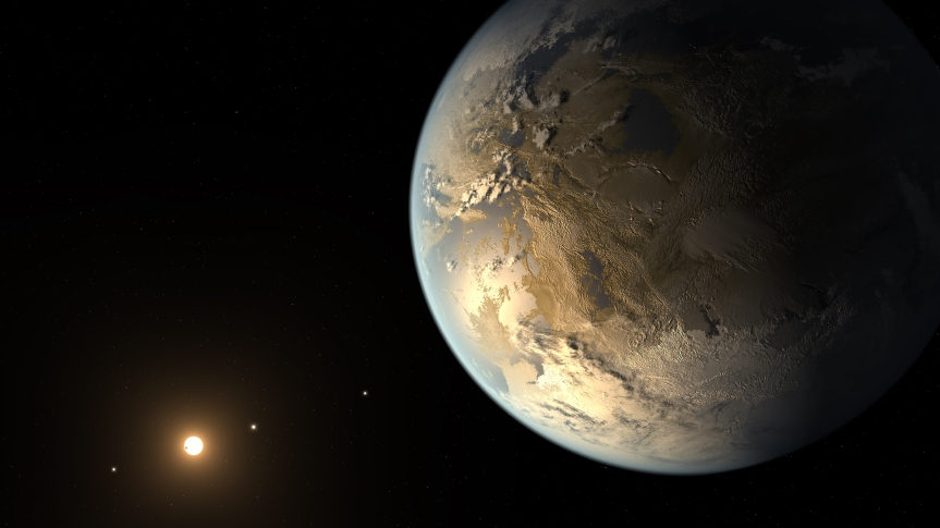 kepler186fImage Credit:  NASA Ames/SETI Institute/JPL-Caltech