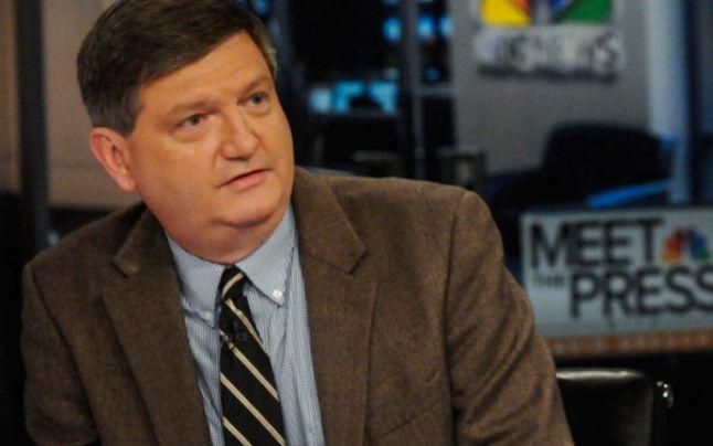 "James Risen, jurnalist al publicaţiei ""New York Times"". FOTO: NBC"