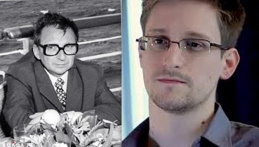 Ion Mihai Pacepa  si Edward Snowden faţă în faţă