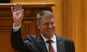 Romanian president Klaus Iohannis