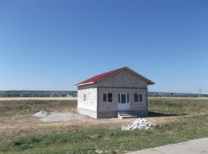 Aceasta casa construita la coordonatele geografice 44.083220/ 26.651203, se pare ca este prima dintr-un nou cartier.