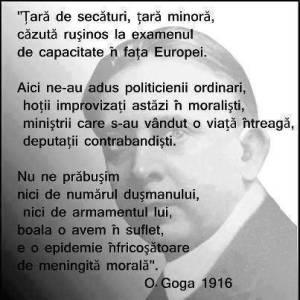 O.Goga , 1916.