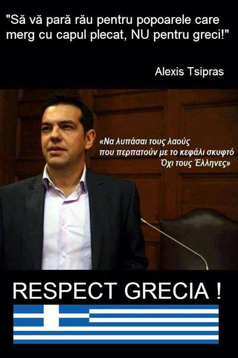 Tsipras mesaj pentru UE