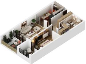 Apartamente 2 camere în Braşov